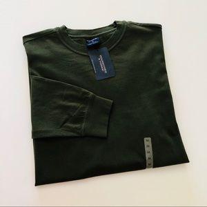 🆕 ROUNDTREE & YORKE Men's Long-sleeved Tee • Sz M